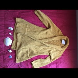 Angel Of The North Sweaters - Yellow sweater