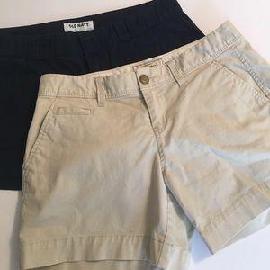 Old Navy Pants - 2 pairs of shorts