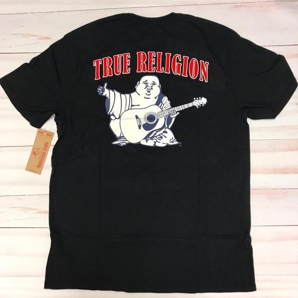 7d36269cecb5 True Religion Shirts | New Mens Big Buddha Black Tshirt | Poshmark