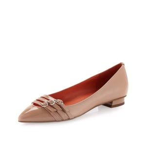 Via Spiga 'Dylan' Buckle Pointed Shoes