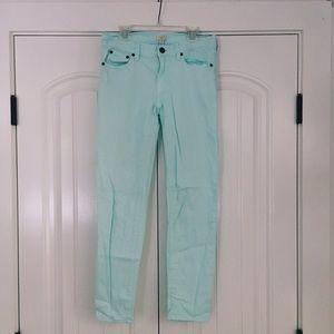 J. Crew Denim - Jcrew Mint Skinny Jeans