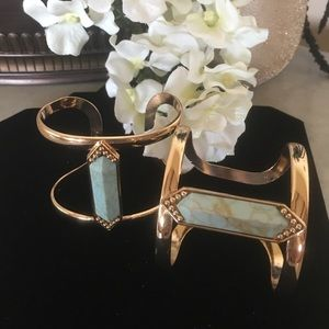 Jewelry - Beautiful Stone Cuff Bracelet