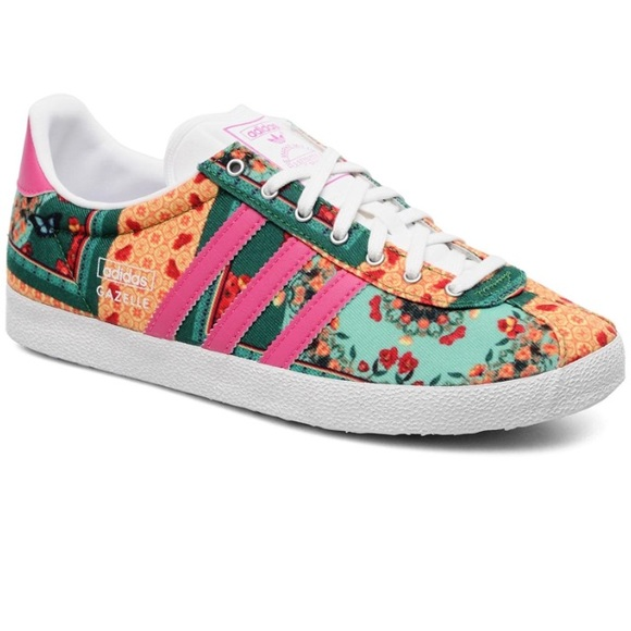 watch a608b a121a adidas Shoes - Adidas Gazelle OG WC Farm Originals Floral