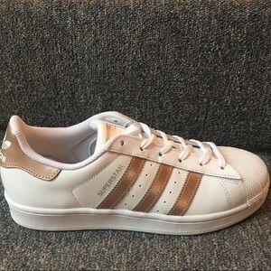 adidas Shoes - Adidas Original Superstars Rose Gold