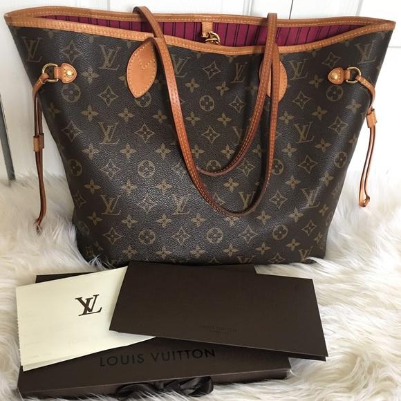 be0ee1f9e5e3 Louis Vuitton Handbags - FINAL SALE!!! Authentic Louis Vuitton Neverfull MM