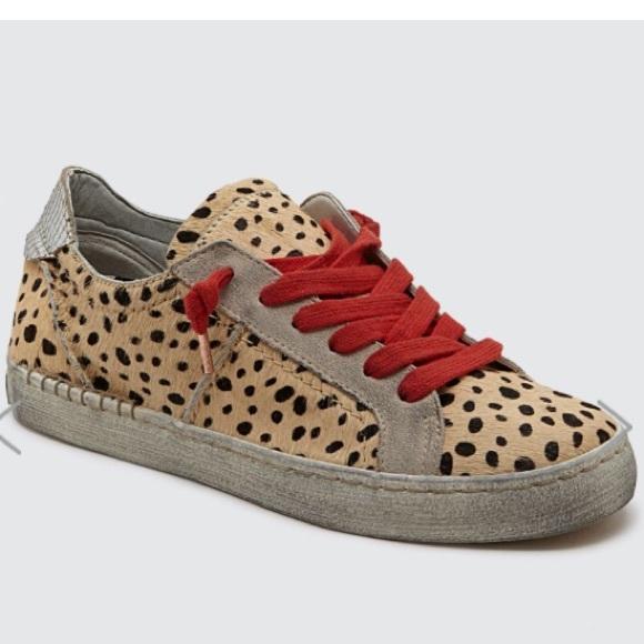 Dolce Vita Leopard Sneakers