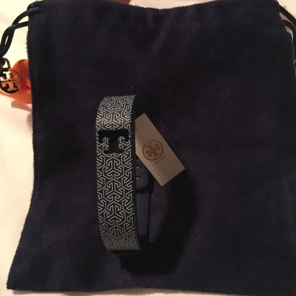 47 off tory burch accessories new tory burch fitbit charge band from christina 39 s closet. Black Bedroom Furniture Sets. Home Design Ideas