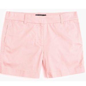 "J. Crew 4"" Chino Short - Pink Wash - NWOT"