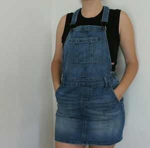GAP denim skirtall/ skirt overalls