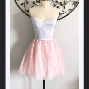 As U Wish Dresses & Skirts - As U Wish Silver/Pink Princess Party Dress, 5