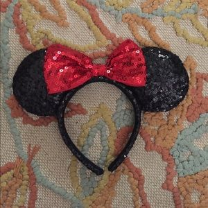Disney Minnie Mouse ears!