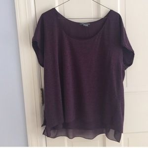 Vince Tops - Vince Silk Lined Top