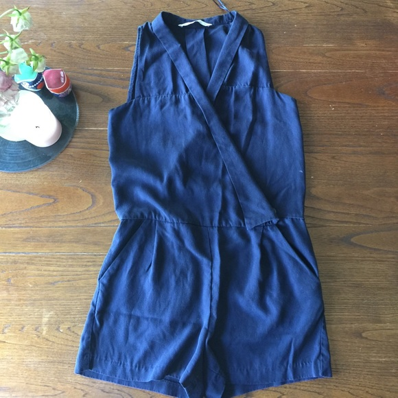 Zara Pants - Blue shorts jumper
