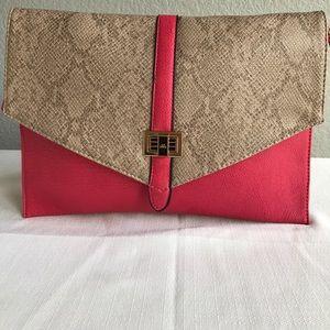Handbags - Coral grey medium size bag