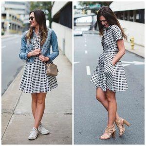 Cynthia Steffe Dresses & Skirts - NWT Cece by Cynthia Steffe Gingham Shirt Dress
