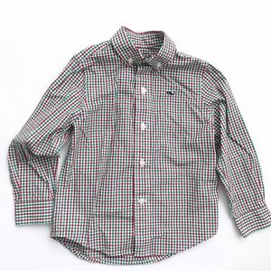 Vineyard Vines Other - VINEYARD VINES Red check Whale Shirt button down
