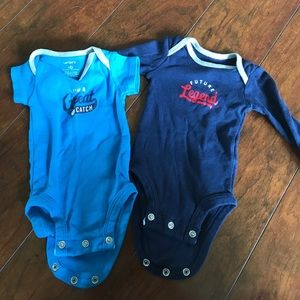 Carter's Other - Set of two newborn onesies