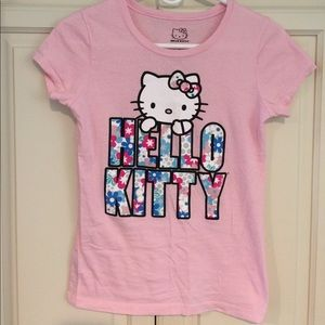 Sanrio Other - Girls XL 14/16 Hello Kitty Short Sleeve Shirt