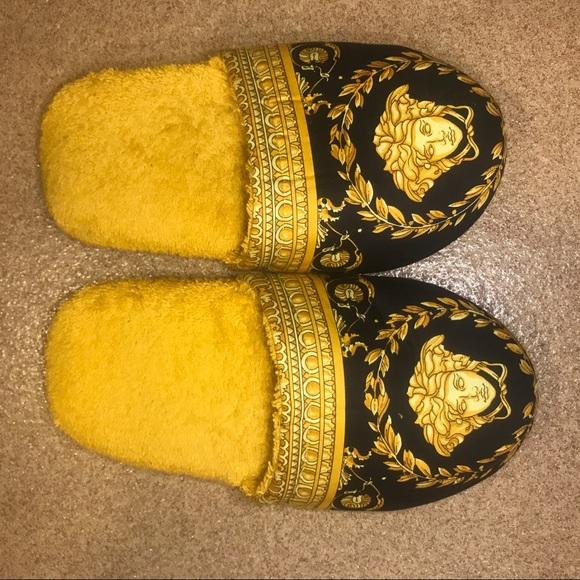 Versace Baroque Medusa Bedroom Slippers