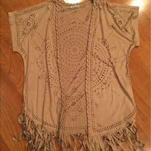 Maurices Other - Suede Kimono