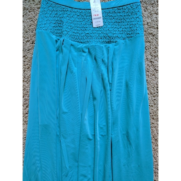 70 bebe dresses skirts turquoise bebe quot pleated