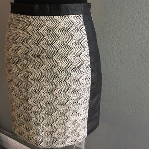 H&M  Mini Skirt Tweed fitted skirt sz8
