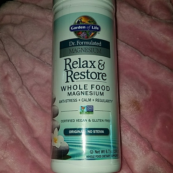 Garden of life relax and restore os from shianne 39 s closet on poshmark for Garden of life relax and restore