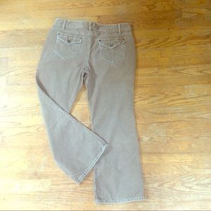 (FINAL SALE) Loft Curvy Bootcut Corduroy Pants