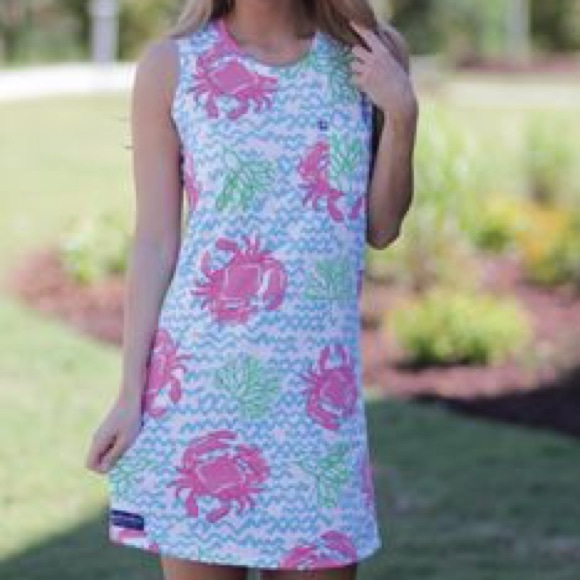 NWT Retired Simply Southern Crab Dress