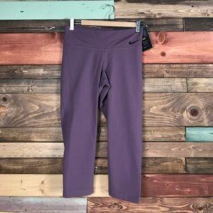 Nike Pants - Nike Legendary Tight Fit Lavendar Crop Legging