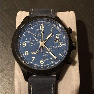 Timex Other - Timex Intelligent Quartz Fly-Back Chronograph 43mm