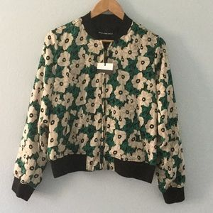 Who What Wear Jackets & Blazers - NWT fully lined floral bomber jacket