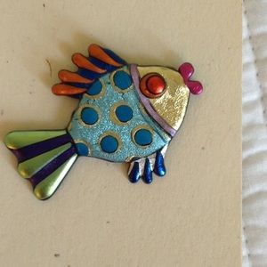 Sherry Lynn Jewelry - Whimsical fish pin