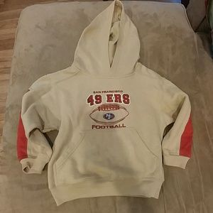 Other - Throwback San Francisco 49ers Hooded Sweatshirt
