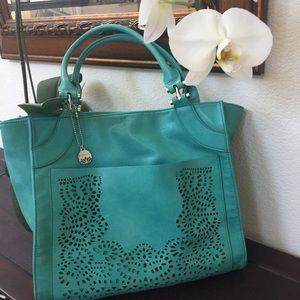 Big Buddha Handbags - Big Buddha Turquoise Handbag