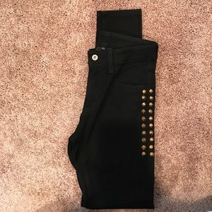 Carmar Denim - LF Carmar black jeans with studs NEVER WORN