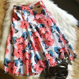 INC International Concepts Dresses & Skirts - 🎉 [hp] 🎉 Beautiful Floral Summer Skirt