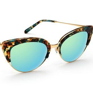 krewe du optic Accessories - Krewe du Optic Josephine Cat Eye Sunglasses