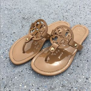 06e4a3c5a Tory Burch Shoes - Tory Burch Miller Patent Logo Reg  195 Sale 150