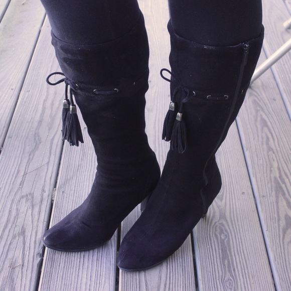 DSW Shoes | Tall Black Boots Womens