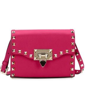 Valentino Handbags - NWT Valentino Small Rockstud Flap Crossbody Bag