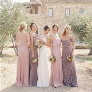 Jenny Yoo Dresses Blake Bridesmaid Prom Blush Nude Dress Poshmark
