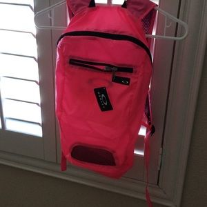 Brand-new neon pink Oakley backpack 