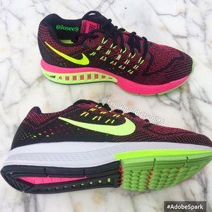 Nike Shoes - Nike Air zoom structure women's green black sneake