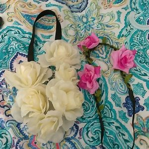Accessories - Floral boho headbands