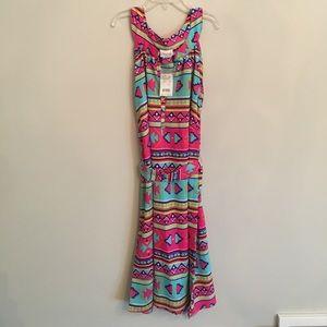 All For Color Dresses & Skirts - Aztec print, sleeveless dress
