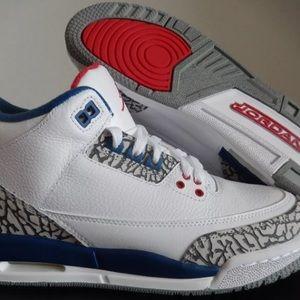 Jordan Other - 🔥New in Box!!  Air Jordan 3 True Blue size 5.5y