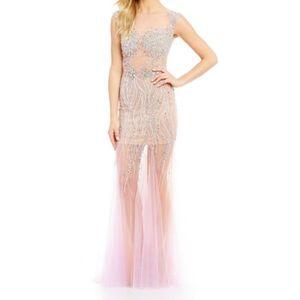 """Terani Couture Dresses & Skirts - Beaded Trumpet """"Terani"""" Dress"""