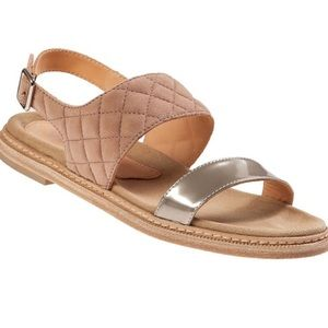 New AQUATALIA Marvin K Whistler Sandals Tan 9.5