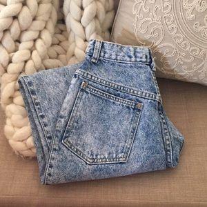 Levi's Denim - Vintage High Waisted Acid Wash Jeans